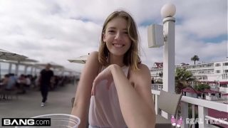 Real Teens – Teen POV pussy play in public